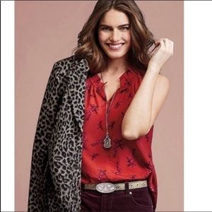 CAbi sketchbook red style 5222 size small